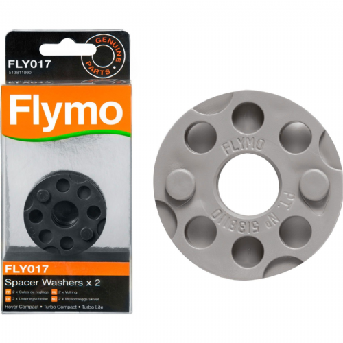 Flymo FLY017 Turbo Compact 300/330/350 Replacement Spacer Washers x 2 Part Number 513811090